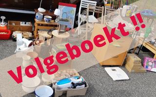 Vlooienmarkt Waalwijk 10 oktober 2021